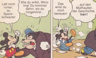 FIESELSCHWEIF  Comic des Monats  Mrz 2010 Micky