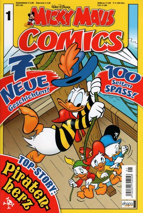 Micky Maus Comics 1
