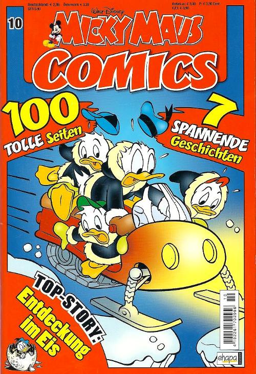 Micky Maus Comics 10